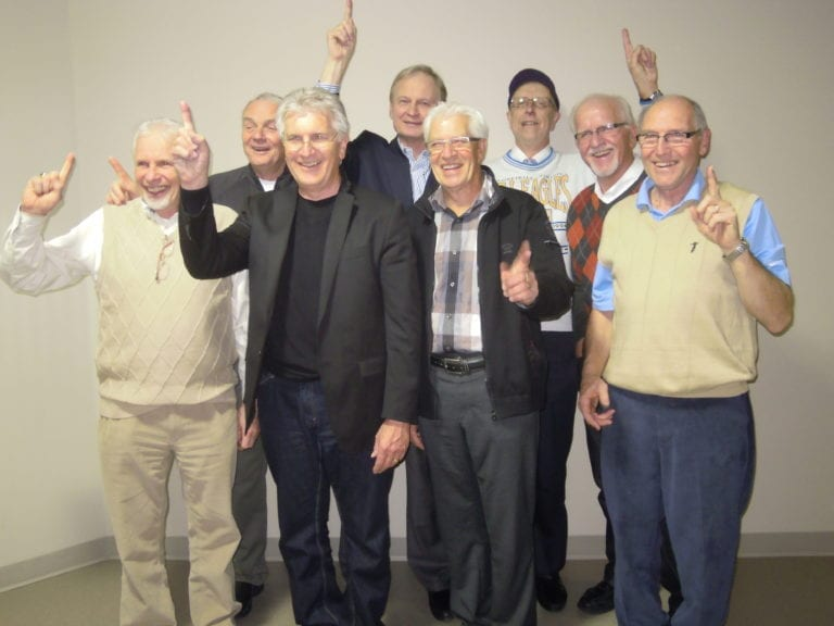 MEI 1963 Provincial Championship Team at Reunion in 2013