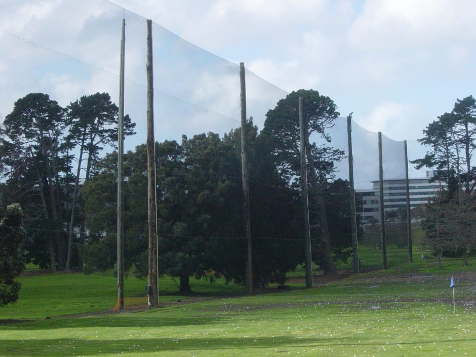 Driving range netting that lasts weathersolve