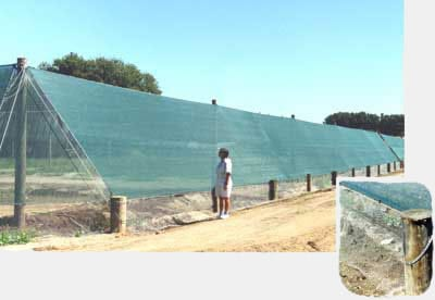 bird netting / exclusion netting weathersolve