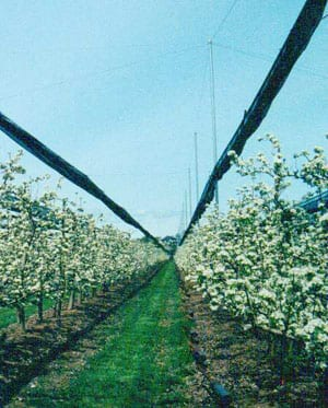 Retractable crop protection weathersolve