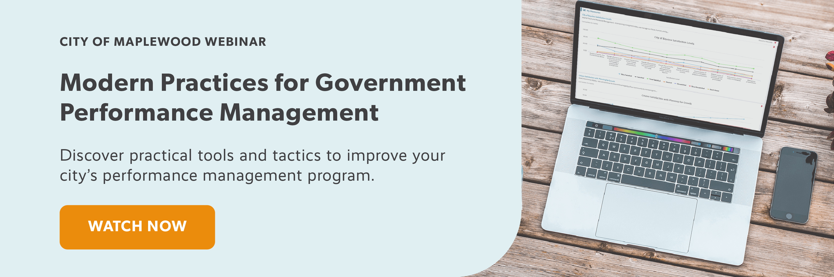 Modern Practices for Government Performance Management