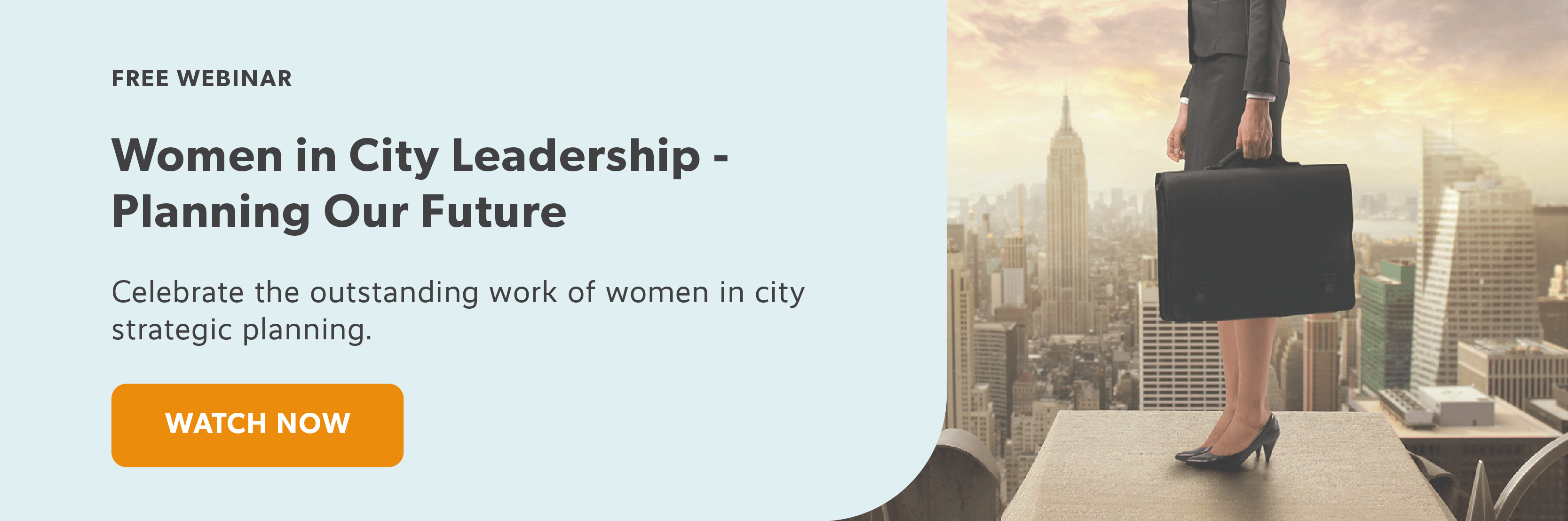 Women in City Leadership - Planning Our Future