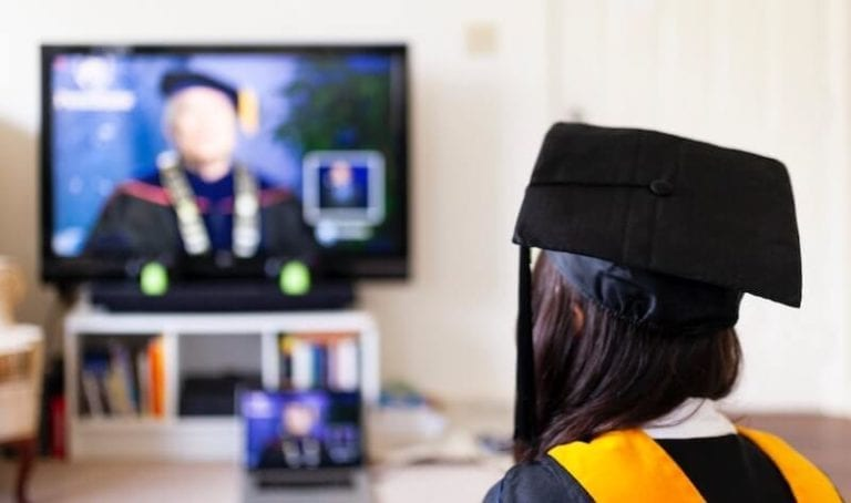 Photo of Pennsylvania State College Online Graduation 2020