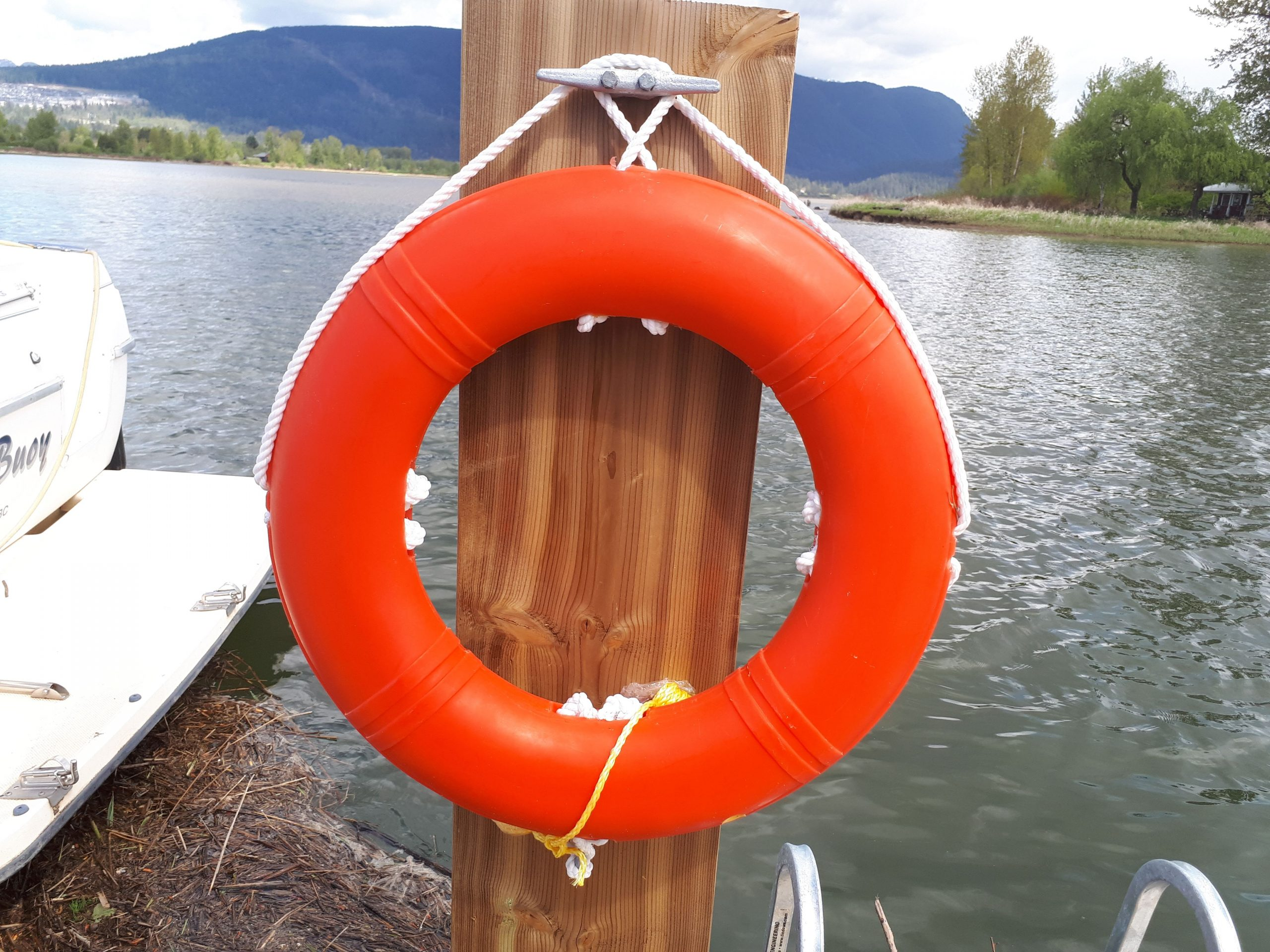 Buoy at the Pitt Meadows Marina